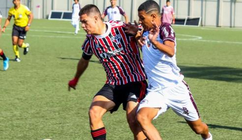 São Paulo goleia Jacuipense fora de casa e abre vantagem na Copa do Brasil Sub-17