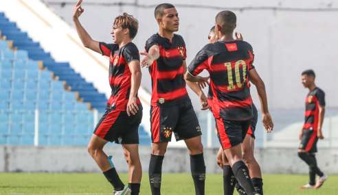 Sport faz 11 a 1 no Maranhão e avança às oitavas da Copa do Brasil Sub-17