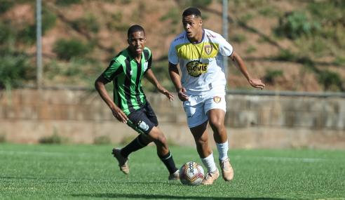 Minas Boca e América empatam em estreia no Mineiro Sub-17
