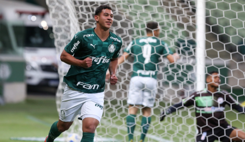 Palmeiras atropela Desportiva Paraense e vai às oitavas da Copa do Brasil Sub-17