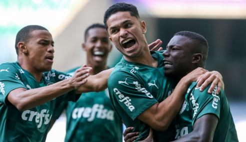 Com início arrasador, Palmeiras goleia Sport e assume vice-liderança do Brasileirão Sub-20