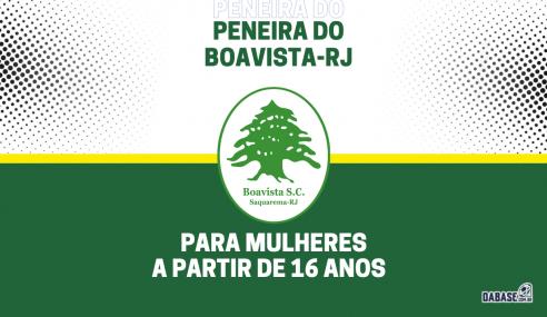 Boavista-RJ realizará peneira para a equipe feminina principal