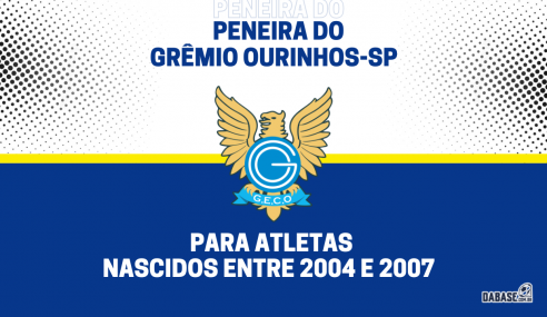 Grêmio Ourinhos-SP realizará peneira para duas categorias