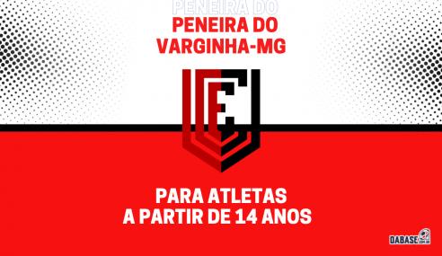 Varginha-MG realizará peneira agendada para base e profissional