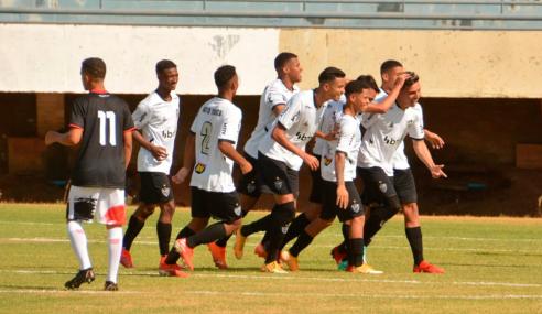 Atlético-MG atropela São Paulinho e avança às oitavas da Copa do Brasil Sub-17