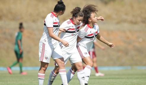 São Paulo vira sobre o Fluminense e se garante nas semifinais do Brasileirão Feminino Sub-18