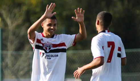 14 a 0! São Paulo aplica goleada histórica no Grêmio Santo Antônio pela Copa do Brasil Sub-17