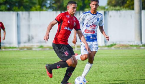 Nos pênaltis, São Raimundo-RR elimina Brasil de Pelotas da Copa do Brasil Sub-17