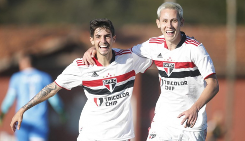 São Paulo deslancha no segundo tempo e goleia SC Brasil pelo Paulistão Sub-20