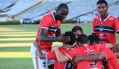 Picos impõe primeira derrota ao Fluminense; Flamengo e River também vencem no Piauiense Sub-20