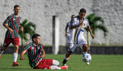 Fluminense vira, goleia VF4 e avança na Copa do Brasil Sub-17