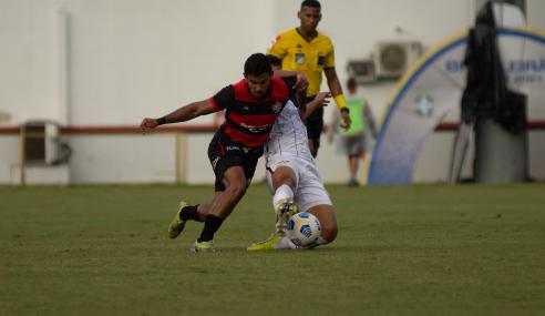 Vitória é superado pelo Fluminense em casa e cai no Brasileirão de Aspirantes