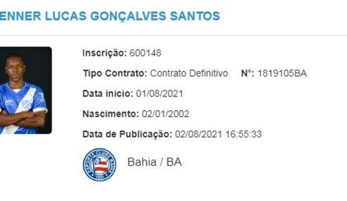 Bahia acerta contratação de atacante do Taubaté para o sub-20