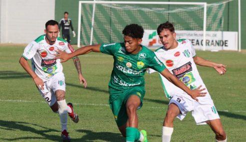Cuiabá vence Grêmio Sorriso na ida das quartas do Mato-Grossense Sub-19