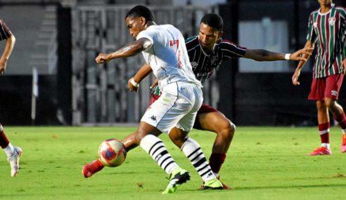 Com gol nos acréscimos, Vasco empata com o Fluminense pelo Carioca Sub-20