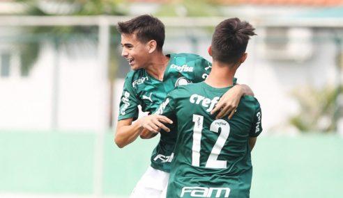 Estreante dá a vitória e a ponta isolada ao Palmeiras no Paulista Sub-15