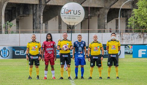 Ferroviário estreia no Cearense Sub-20 com empate no fim diante do União