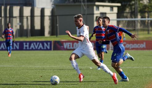 Em jogo de oito gols, Fortaleza vence Athletico-PR fora de casa pelo Brasileirão Sub-20