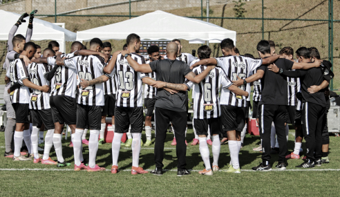 Atlético derrota Nacional de Muriaé e pega Cruzeiro nas semifinais do Mineiro Sub-20