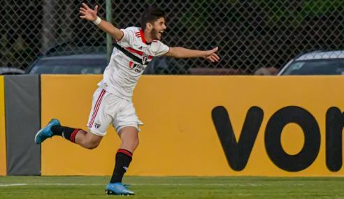 São Paulo vence Atlético-MG, assume liderança e se classifica no Brasileirão Sub-20