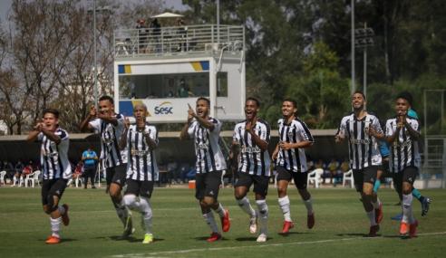 Atlético-MG vence Vasco e assume liderança provisória do Brasileirão Sub-20
