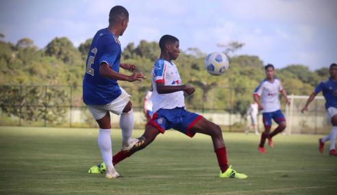 Cruzeiro vira nos acréscimos, vence Bahia e cola no G-8 do Brasileirão Sub-20