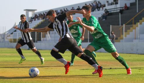 Com dois de Marco Jr., Chapecoense bate Ceará fora de casa pelo Brasileirão Sub-20