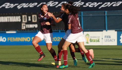 Fora de casa, Ferroviária vence Corinthians pelas semifinais do Brasileirão Feminino Sub-18