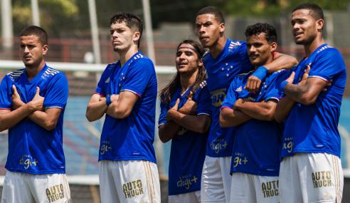 Cruzeiro deslancha no segundo tempo, goleia Pouso Alegre e avança no Mineiro Sub-20