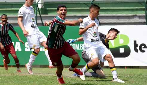 Fluminense bate Criciúma e vai às quartas da Copa do Brasil Sub-17