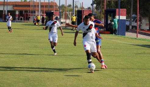 Vasco vence Fortaleza fora de casa e se firma no G-8 do Brasileirão Sub-20