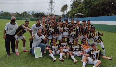 Vasco perde para o Volta Redonda pelo Carioca Sub-15
