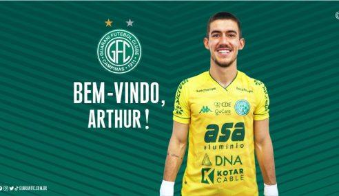 Guarani oficializa contratação de goleiro formado na base do São Paulo