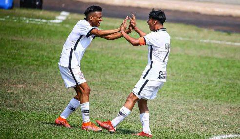 Corinthians faz nova vítima e segue tranquilo na ponta no Paulista Sub-17