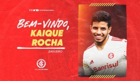 Internacional oficializa a contratação de Kaique Rocha