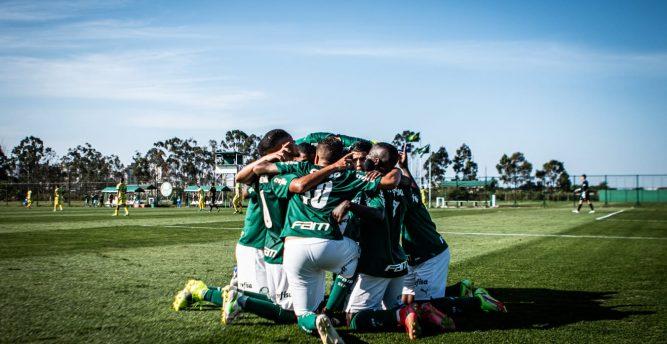 Palmeiras garante vaga antecipada na segunda fase do Paulista Sub-20