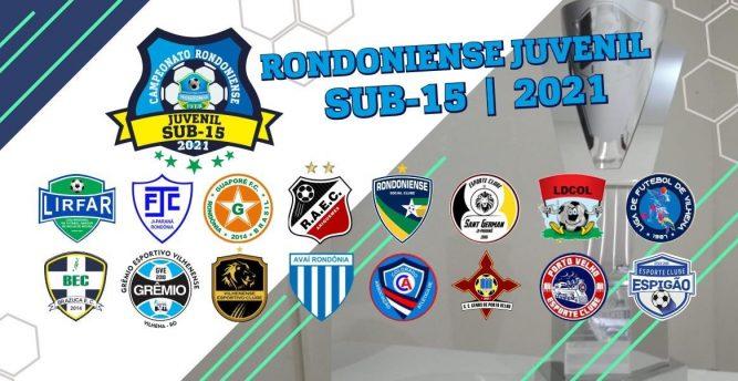 FFER sorteia grupos e divulga tabela do Rondoniense Sub-15