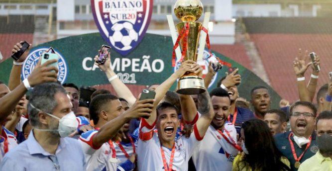 Bahia conquista tricampeonato estadual sub-20