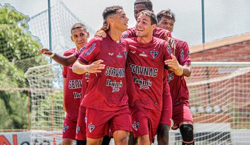 Ferroviário goleia Aliança pelo Cearense Sub-17