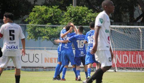Vitória ganha do Rio Branco pelo Capixaba Sub-15