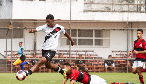 Flamengo vence clássico diante do Vasco pelo Carioca Sub-15
