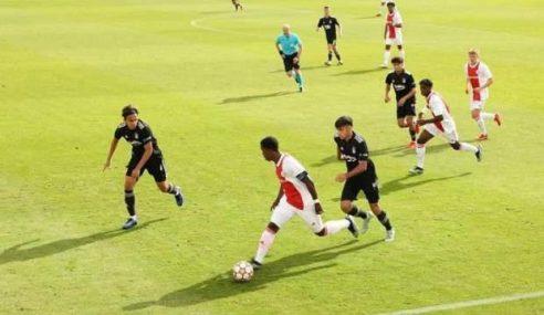 Ajax vence e pula para a ponta do seu grupo na Uefa Youth League