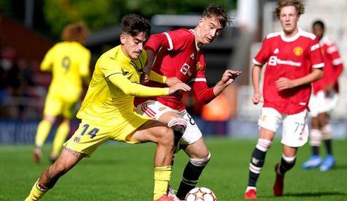 Villarreal goleia Man Utd e se mantém 100% na Uefa Youth League