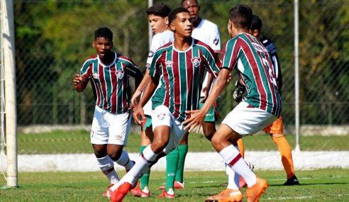 Fluminense segue 100% no Carioca Sub-15
