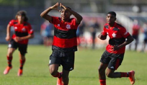 Flamengo goleia e se mantém 100% no Carioca Sub-15