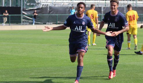 PSG goleia e segue 100% no Francês Sub -19