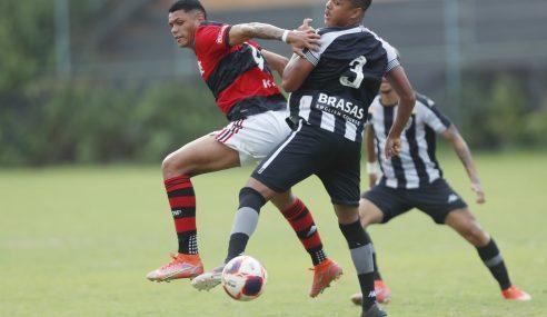 Flamengo vence Botafogo fora de casa na ida das semifinais do Carioca Sub-20