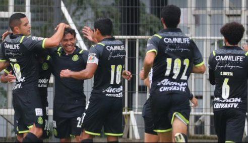 Mexicano Sub-20 continua com três clubes na liderança