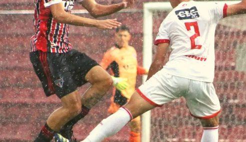 Audax põe fim à invencibilidade do São Paulo no Paulista Sub-20