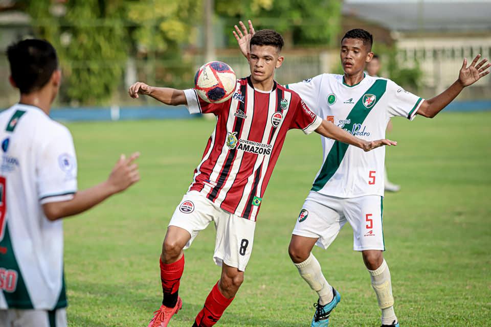 Líderes, Tuna Luso e Tarumã empatam pelo Amazonense Sub-17